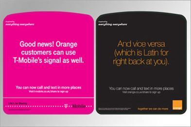 T-Mobile Orange Poster Campaign