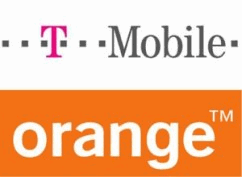 T-Mobile and Orange logos