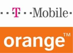 T-Mobile and Orange logos