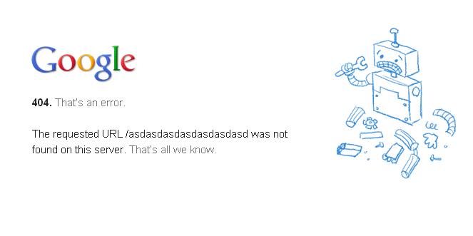 Error404 Google