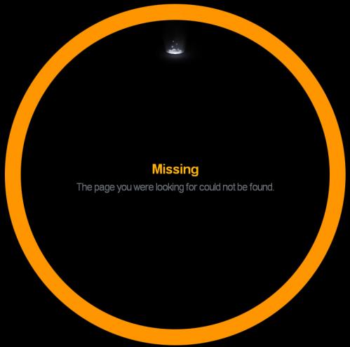 Error 404 page from Newspond