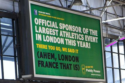 Paddy Power - Olympics Poster