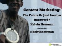Content Marketing slides