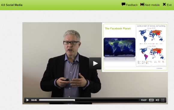 elearning video example