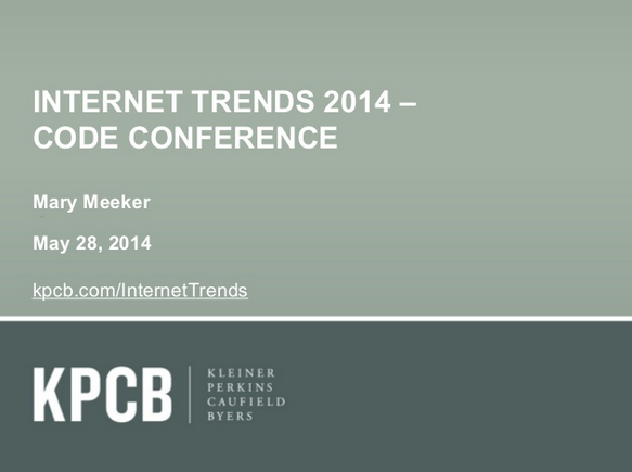Internet Trends Report 2014