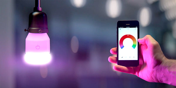 LIFX lightbulb