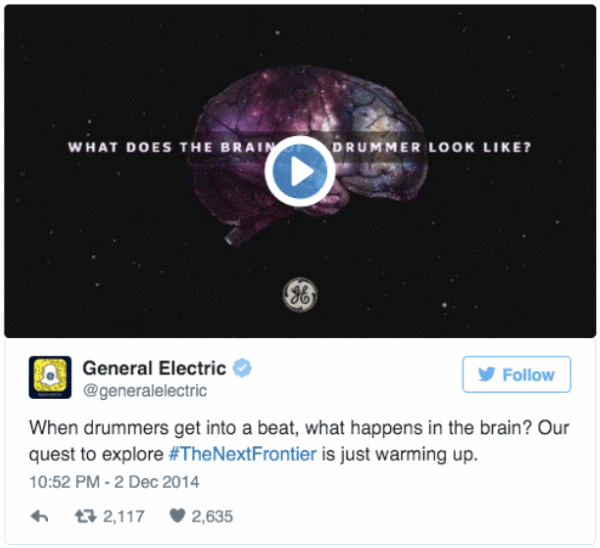 General Electric Twitter campaign