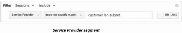 Service Provider segment