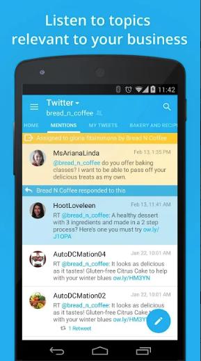 Hootsuite Mobile App