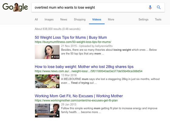 Overtired mum who wants to lose weight search